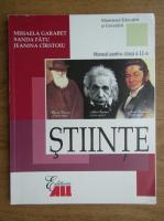 Mihaela Garabet - Stiinte. Manual pentru calsa a 11-a