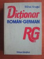 Mihai Anutei - Dictionar roman-german