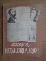Mihai Apostol - Contributii la istoria culturii ploiestene