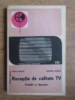 Mihai Basoiu - Receptia de calitate TV. Intrebari si raspunsuri