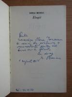 Anticariat: Mihai Beniuc - Elegii (cu autograful si dedicatia autorului)