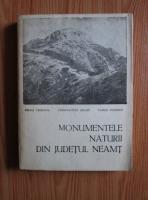 Mihai Ciobanu - Monumentele naturii din judetul Neamt