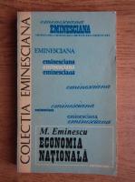 Mihai Eminescu - Economia nationala