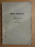 Mihai Eminescu - Gedichte (1943)