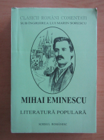 Mihai Eminescu - Literatura populara