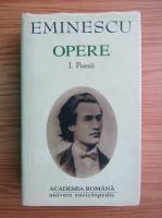 Mihai Eminescu - Opere, volumul 1. Poezii