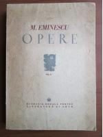 Mihai Eminescu - Opere (volumul 2, 1943)