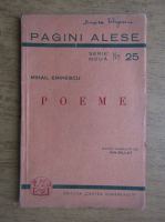 Mihai Eminescu - Poeme. Luceafarul, Calin, Epigonii, Scrisoarea I, Scrisoarea III (1944)