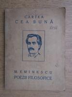 Mihai Eminescu - Poezii filosofice, sociale si satirice (1923)