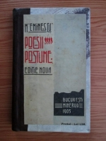 Mihai Eminescu - Poezii postume (1905)