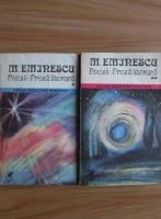 Mihai Eminescu - Poezii. Proza literara (2 volume)