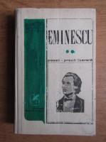 Mihai Eminescu - Poezii. Proza literara (volumul 2)