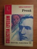Mihai Eminescu - Proza