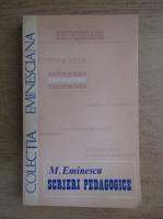 Mihai Eminescu - Scrieri pedagogice