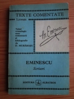 Mihai Eminescu - Scrisori (texte comentate)