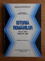 Anticariat: Mihai Manea - Istoria romanilor. De la 1821 pana in 1989. Manual pentru clasa a XII-a