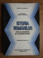 Mihai Manea - Istoria romanilor. Epoca Moderna si Contemporana