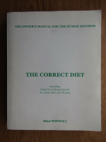 Anticariat: Mihai Popovici - The correct diet