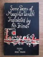 Mihai Ursachi - Poeme. Poems (editie bilingva romana-engleza)