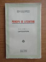 Anticariat: Mihail Dragomirescu - Principii de literatura (volumul 1, 1935)
