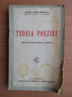 Anticariat: Mihail Dragomirescu - Teoria poeziei (1927)