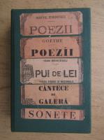 Mihail Eminescu, Goethe - Poezii (5 volume coligate, 1920)
