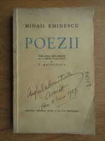 Mihail Eminescu - Poezii (1936)