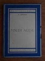 Anticariat: Mihail Lermontov - Poezii alese