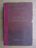 Mihail M. Ionescu - Dictionar roman-italian (1944)