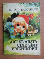 Mihail Sadoveanu - Aici se arata cine sunt prichindeii