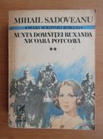 Mihail Sadoveanu - Nunta domnitei Ruxandra. Nicoara Potcoava (volumul 2)