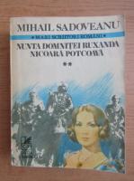 Anticariat: Mihail Sadoveanu - Nunta domnitei Ruxandra (volumul 2)
