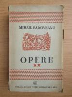Mihail Sadoveanu - Opere (volumul 2, 1940)