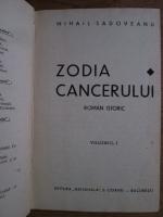 Mihail Sadoveanu - Zodia cancerului (volumul 1, 1929)