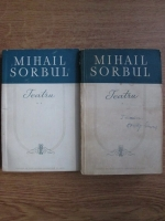 Anticariat: Mihail Sorbul - Teatru (2 volume)