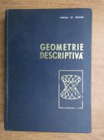 Mihail St. Botez - Geometrie descriptiva