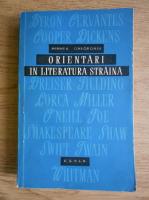 Anticariat: Mihnea Gheorghiu - Orientari in literatura straina