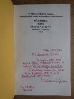 Anticariat: Milcoveanu Serban - Razboiul dintre stat si natiune (2 volumne, cu autograful autorului)