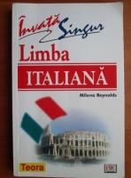 Anticariat: Milena Reynolds - Invata singur limba italiana