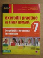 Anticariat: Mina Maria Rusu - Exercitii practice de limba romana. Competenta si performanta in comunicare. Clasa a VII-a
