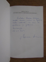 Anticariat: Mircea Arman - O istorie critica a metafizicii occidentale (cu autograful autorului)