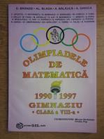 Mircea Becheanu - Olimpiadele de matematica 1990-1997 gimnaziu, clasa a VIII-a