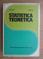 Anticariat: Mircea Biji - Statistica teoretica