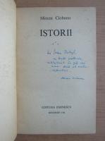 Anticariat: Mircea Ciobanu - Istorii (volumul 3, cu autograful si dedicatia autorului pentru Jozsef Balogh)