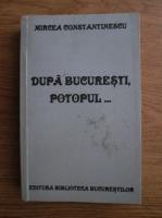 comperta: Mircea Constantinescu - Dupa Bucuresti, potopul...