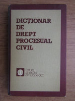 Anticariat: Mircea Costin - Dictionar de drept procesual civil