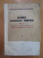 Anticariat: Mircea Florian, Liviu Rusu - Istoria filosofiei moderne (volumul 2, 1938)