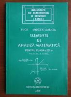 Mircea Ganga - Elemente de analiza matematica pentru clasa a XI-a (partea 2)