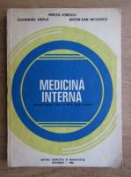 Anticariat: Mircea Ionescu, Alexandru Vintila - Medicina interna. Manual pentru clasa a XII-a, licee sanitare (1983)