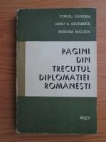 Mircea Malita, Virgil Candea, Mircea Malita - Pagini din trecutul diplomatiei romanesti